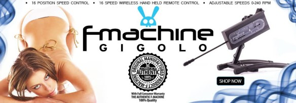 Fucking Machine F-Machine Gigolo